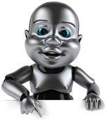 ребенок робот — Стоковое фото