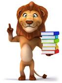 Smart Lion — Stock Photo