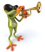 Cool Frog — Stock Photo