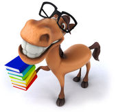 Fun horse — Stock Photo
