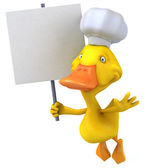 Fun duck — Stock Photo