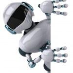 Robot — Stok fotoğraf #4377726