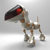 Cão robô — Fotografia Stock