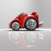 Red Sports car — Foto Stock