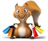 Fun squirrel — Stockfoto