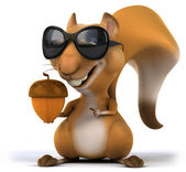 Fun squirrel — Stock Photo