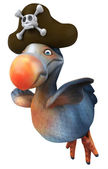 Dodo pirate — Stock Photo