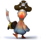 Dodo pirate — Foto Stock