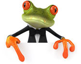 Fun frog — Stock Photo