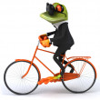 Business frog — Stock Photo #44752259
