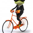 Business frog — Stock Photo #44752269