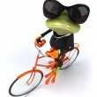 Business frog — Stock Photo #44752317