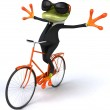 Business frog — Stock Photo #44752339