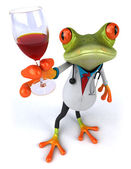 Frog doctor — Stock Photo