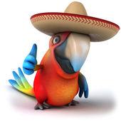 Fun parrot — Stock fotografie