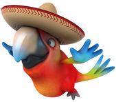 有趣的鹦鹉 — 图库照片