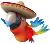 Fun parrot — Photo