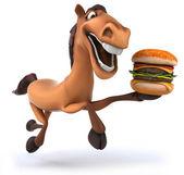Fun horse — Stock Photo