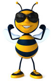 Strong Bee  . — Stock Photo