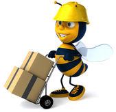 Pszczoła pracownika — Zdjęcie stockowe