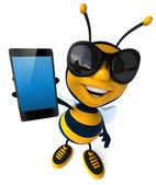 Fun bee — Stock Photo