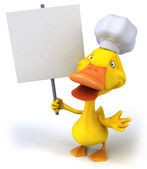 Duck chef — Stock Photo
