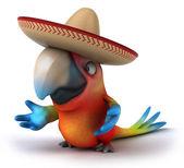 Fun Parrot — Stock Photo