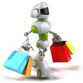 Robot di divertimento — Foto Stock