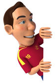 Spanish footballer — Stock Photo