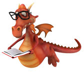 Smart Dragon — Stock Photo