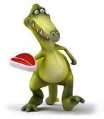 楽しい恐竜 — ストック写真