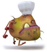 Germ chef — Stock Photo
