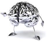 Merry brain — Stock Photo