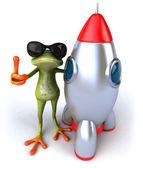 Zabawa żaba — Zdjęcie stockowe
