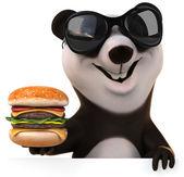 Fun panda — Stock Photo