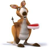 Fun kangaroo — Stock Photo