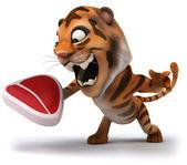 Fun tiger — Stock Photo