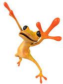Fun frog — Stock Photo