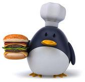Penguin chef — Stock Photo