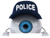 Police eye — Stock Photo