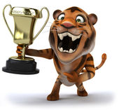 Tygr s šálkem — Stock fotografie
