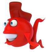 Zábavné ryb — Stock fotografie