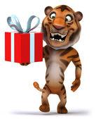 Fun Tiger illustration — Stock Photo