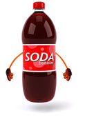 Fun Soda illustration — Stock Photo