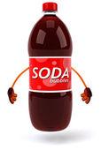 Fun Soda illustration — Stock Photo