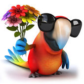 Perroquet du plaisir — Photo