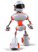 Robot 3d — Stock Photo