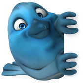 Blue bird — Stock Photo
