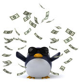 Funny penguin — Stock Photo