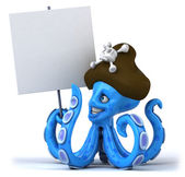 Pirate Octopus — Stock Photo